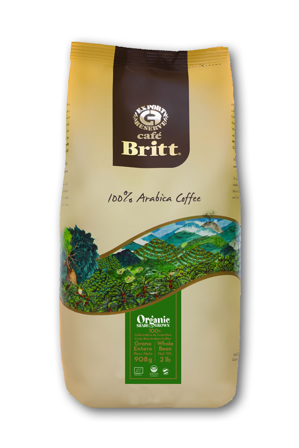 Buy Online: Organic shade grown coffee beans